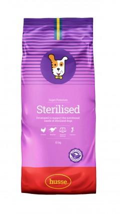 croquettes pour chien sterilise husse